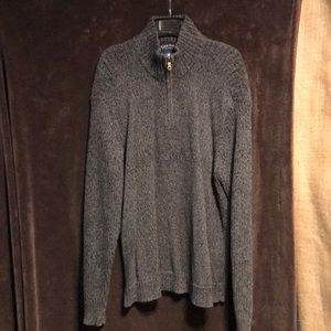Charter Club size medium used sweater quarter zip